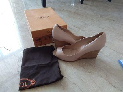 Tod's wedges size 38