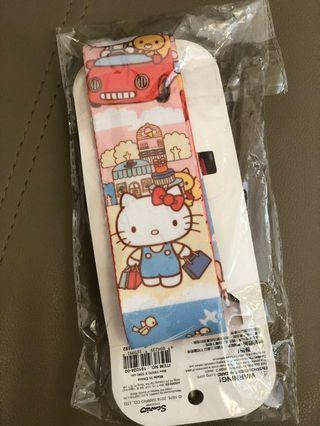 Sanrio Hello Kitty 行李帶 (全新正品)