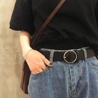 Silver Ring Belt [READY STOCK]