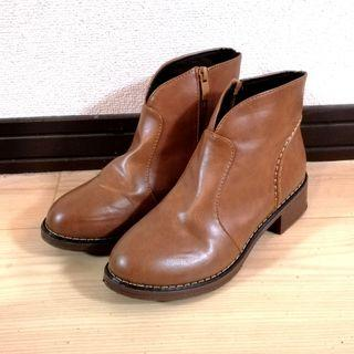 🚚 [size 37] ankle heel boots in brown