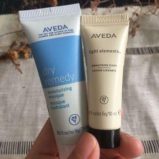 🚚 Aveda兩件組 深層保濕護髮膜+輕感柔亮液
