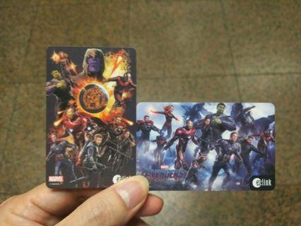 Avengers ezlink card #MRTRaffles #MRTPunggol