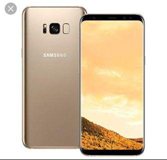 Samsung Galaxy S8 Gold used