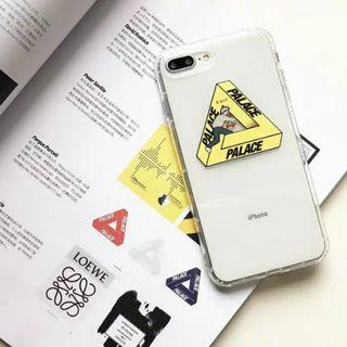 [PO] Palace Transparent IPhone 6/7/8/X/XS/MAX/XR case
