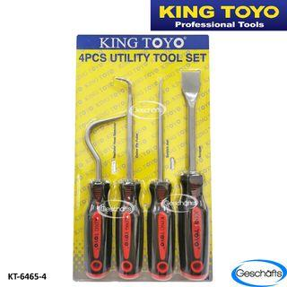 King Toyo 4pcs Utility Tool Set