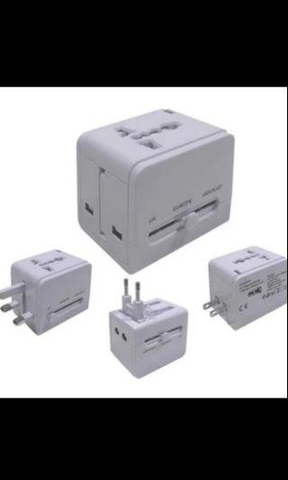 Adapter travel charger all in one