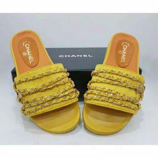 Sandal Chanel Premium BNIB Made In ITALY
