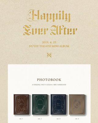 NUEST 6TH MINI ALBUM - HAPPILY EVER AFTER