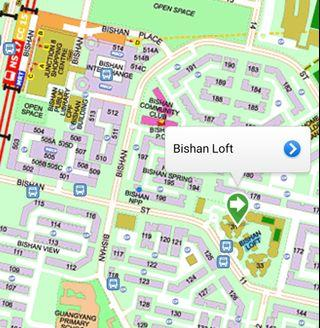 Bishan Loft common room for 1 pax!
