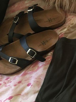 Birkenstock style shoes