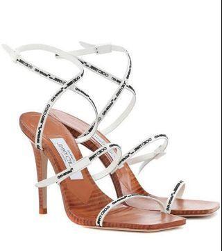 Off-white Jimmy Choo heels