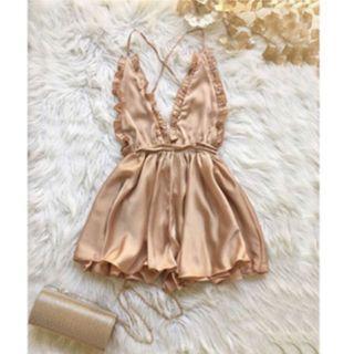 Sleepwear Style Sexy Dress