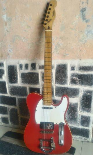 Guitar Fender 62 Telecaster with Bigsby (USA ) candy Apple Red