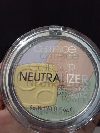 Catrice colour neutralizer matte powder