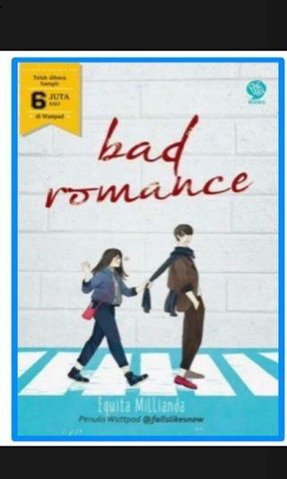 Ebook bad romance by equita millianda