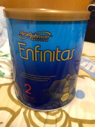 Enfinitas 2號400g 奶粉