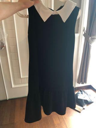 Black french dress