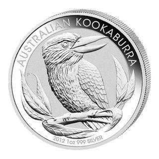 2012 1oz Kookaburra Silver