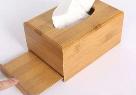 全新 木做紙巾盒 23x11x8.5 北區/大學站勷收