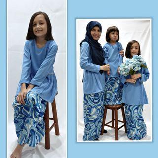 #Peplum #kurung #malay #hari raya #girls #kids #babies #mum set #jubah # ibu #kebaya #cute #mini kurung