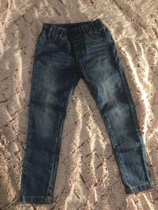 🚚 全新正韓GAB牛仔褲👖 9號=110cm 版型超正 質料親膚