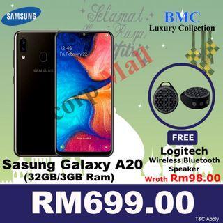 SAMSUNG GALAXY A20 32GB (3GB RAM)