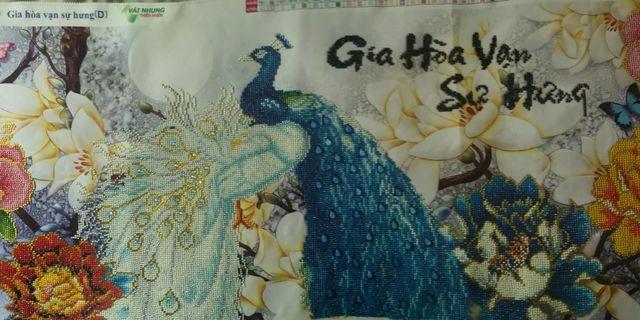 Cross-stitching by Vietnam Artist