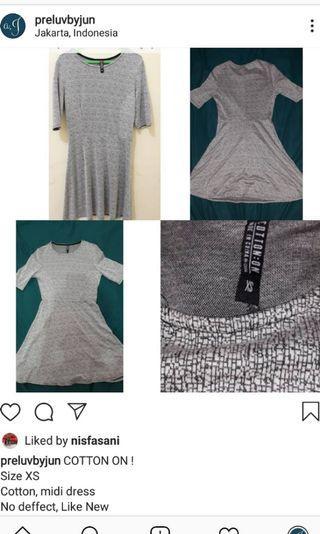 Dress Cotton on