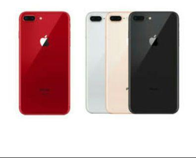 I phone 8+ 64gb new