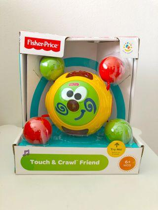 BNIB Fisher Price Touch and crawl ball