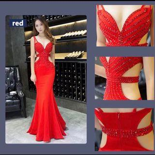 🚚 Sexy Gown Red