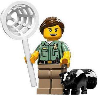 🚚 LEGO series 15 - Animal Control with Raccoon