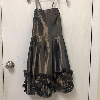 Elegant Dark Green dinner/prom dress (including postage)