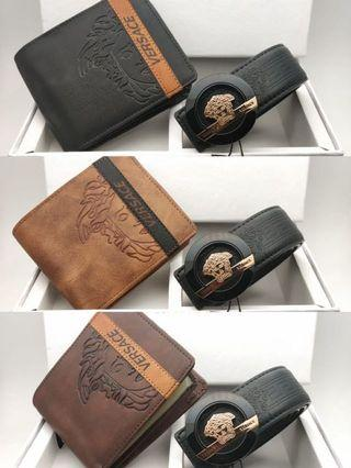 Combo belt and wallet