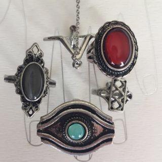 Hand Jewel Rings