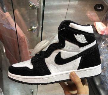 🚚 Nike Suede Jordan 1 High Cut