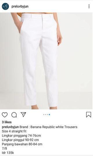 Trouser Banana Republic