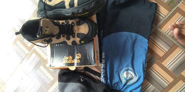 Gaiter makalu/jws shoes 43/eiger topi