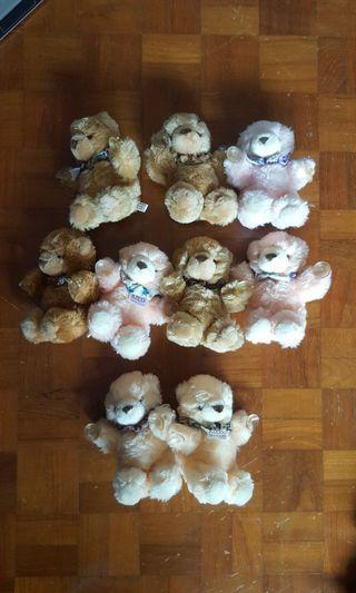 Vintage Jusco Teddy Bears