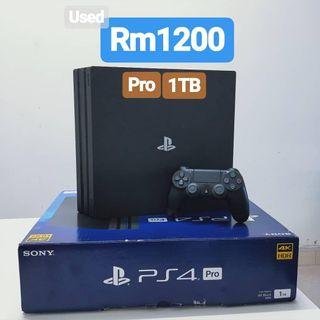 PS4 Pro 1TB  🤩 Good condition