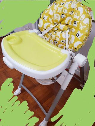 90% new Graco highchair 兒童飯椅