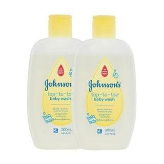Johnson Johnson's Top to Toe Baby Wash Sabun Mandi Bayi 200 ml