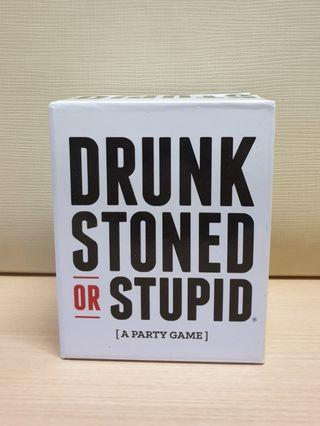 🚚 DRUNK STONED STUPID card game