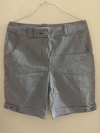 女裝格仔短褲