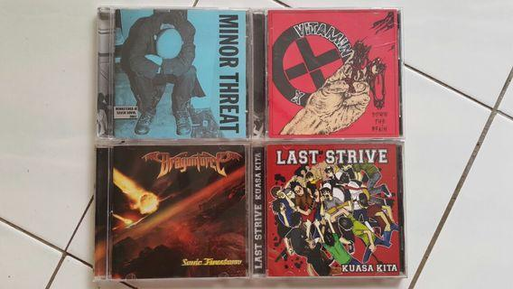 Dragonforce Minor Threat Vitamin X Last Strive