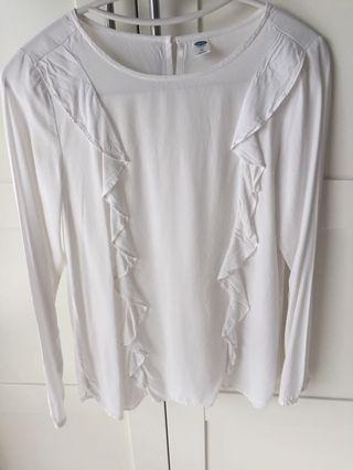 Brand new white blouse / top