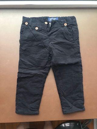 🚚 Mayoral Black Trousers/Pants for Toddler Boy