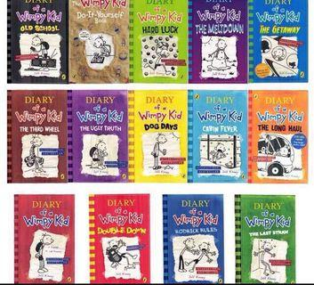 Diary Of A Wimpy Kid 14 books