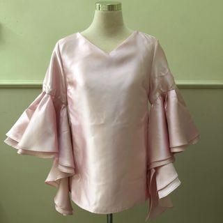Lubna Puff Flared Sleeve Top