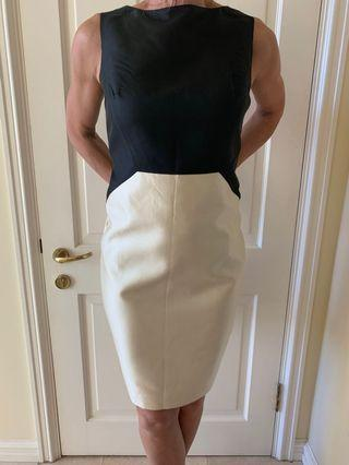 Anne Klein Black and White Formal Dress